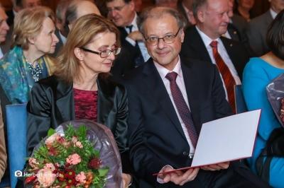 Verleihung Titel Professor an Norbert