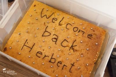 Willkommensparty Herbert